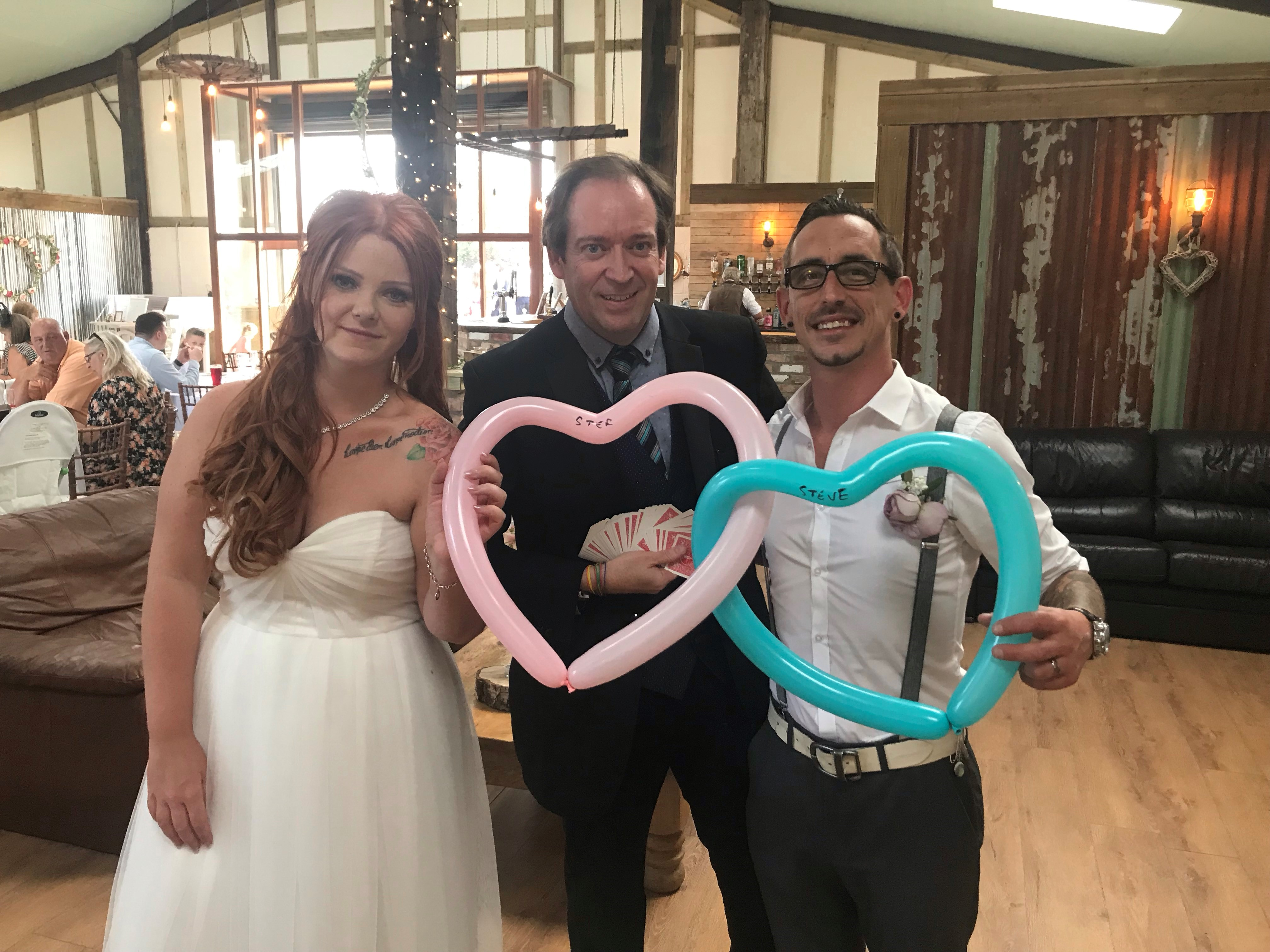 Hull wedding magician