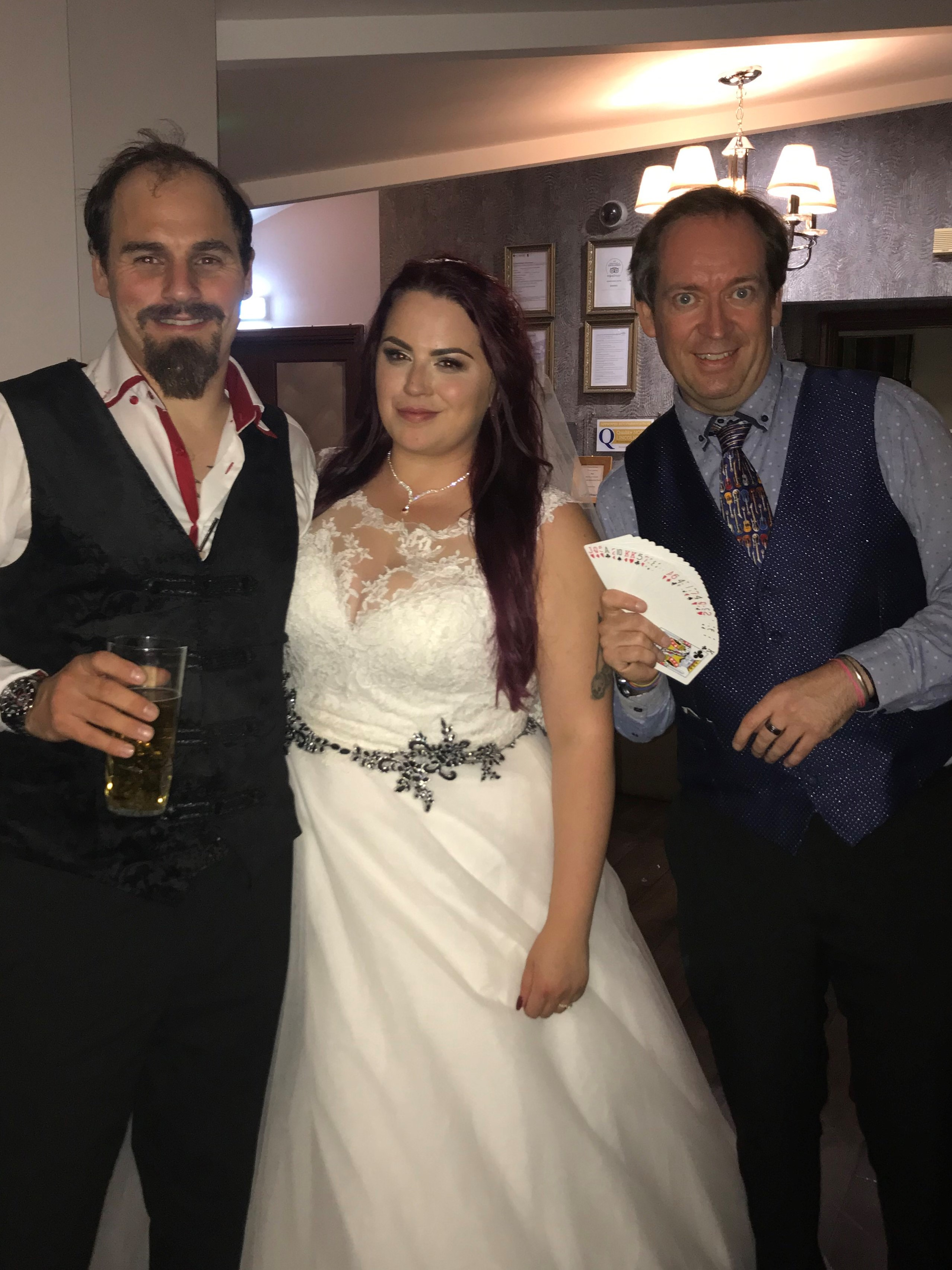 wedding magician in Hull